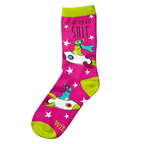 Wit Gifts Socks, Rocket Rabbit