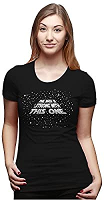 Womens The Sass Is Strong With This One Funny T shirt for Ladies