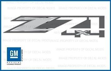 set of 2 CHEVROLET Z71  4X4  DECALS