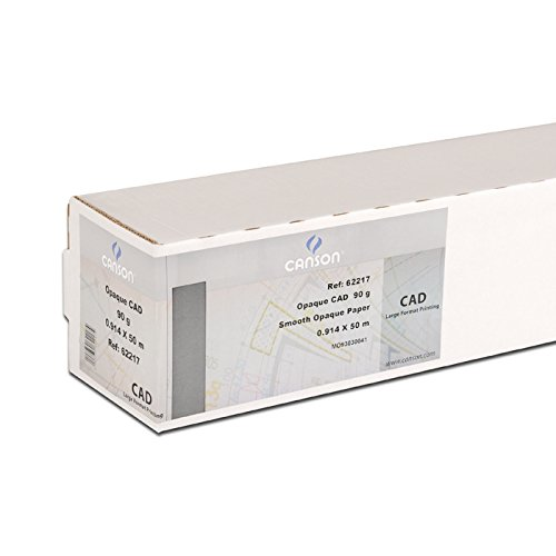 Canson 200061100/carta inkjet Ultra Bianco Lotto di 250 A1-59,4 x 84,1 cm Ultra Blanc