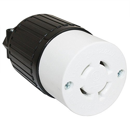 Superior Electric YGA028F Twist Lock Electrical Receptacle 20A 125/250V NEMA L14-20R -