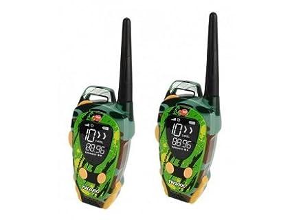 Dickie Toys - 2 talkies Walkies Enfant Vert Outdoor portée 600 m