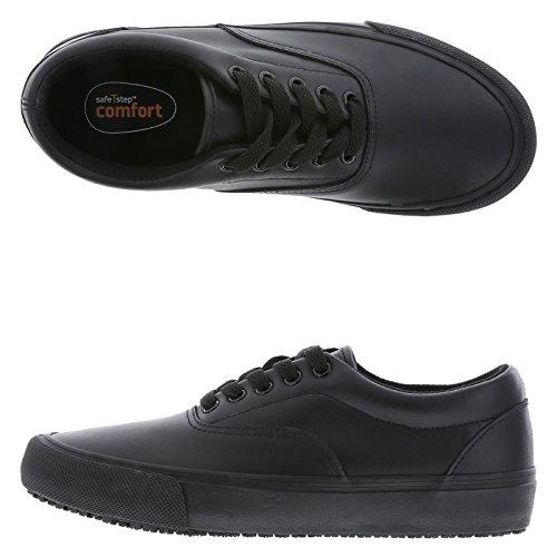 d3c6b570b51172 SafeTstep Men s Slip Resistant Black Grande Oxford Dress Shoes durable  service