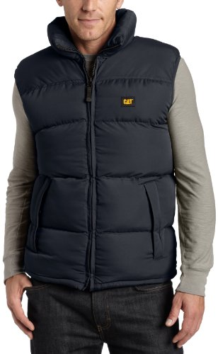 Caterpillar Men's Arctic Zone Vest, Navy, Medium from Caterpillar