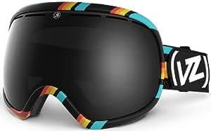 VonZipper Fishbowl Spherical Snow Goggle, Bike/Black
