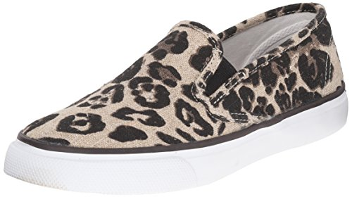 Sperry Seaside Animal, Zapatillas para Mujer Beige (Tan)
