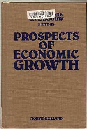 Kostenlose Ebooks herunterladen Prospects of Economic Growth PDF PDB CHM