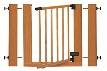 Amazon Com Summer Infant Sure Secure Deluxe Wood Walk Thru Gate