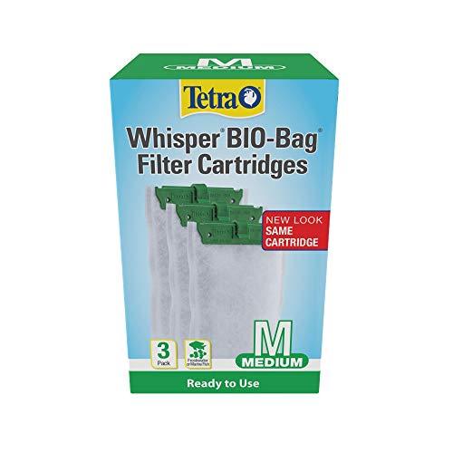 Tetra Whisper Bio-Bag Filter Cartridges for Aquariums – Ready to Use