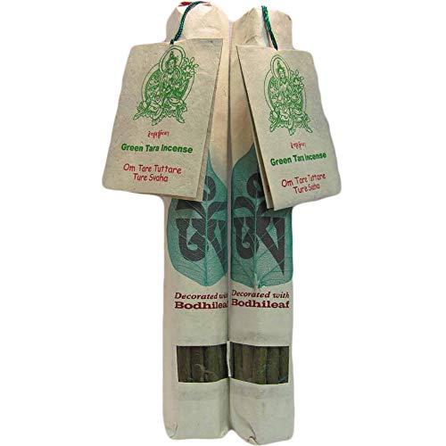 - Traditional Tibetan Green Tara Ayurveda Chakra Aroma Therapy Healing Incense Pack of 2