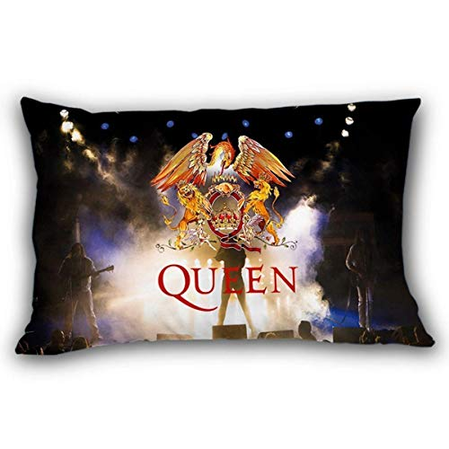 Band Pillow (Menghom Queen Classic Rock Band Freddie Mercury Pillow Cases 20