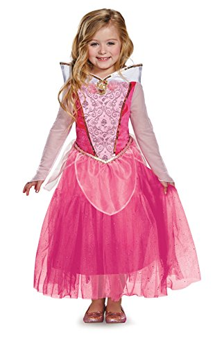 Costumes Sleeping Beauty Characters (Aurora Deluxe Disney Princess Sleeping Beauty Costume,)