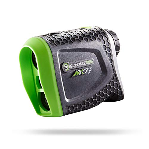 Precision Pro Golf - NX7 Pro Golf Rangefinder - Golf Laser Range Finder with Slope Elevation Measurements, Pulse Vibration Feature, Precision Care Package