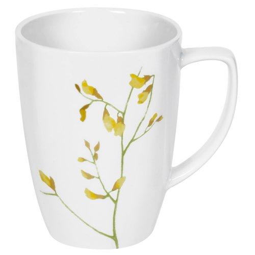 Corelle Square 12-Ounce. Porcelain Mug, - Corelle Oz Mug 12 Square