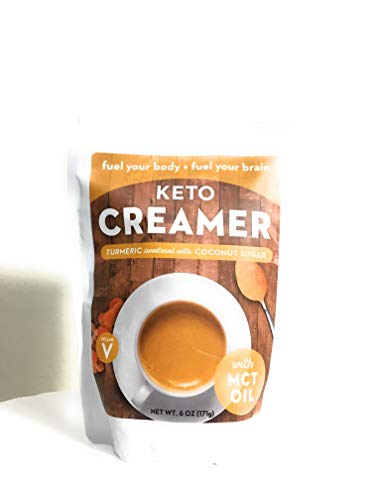 360 Nutrition Keto Creamer with MCT Oil Turmeric Sweetened with Coconut Sugar