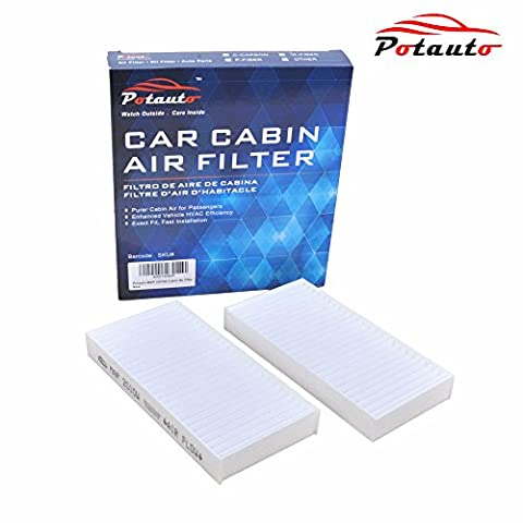 POTAUTO MAP 2010W Cabin Air Filter Replacement compatible with JEEP, WRANGLER (2013 Jeep Parts)