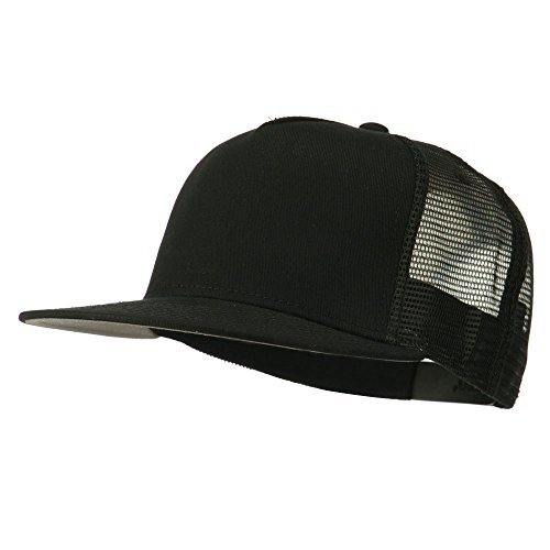 Otto Caps 5 Panel Prostyle Trucker Caps - Black OSFM