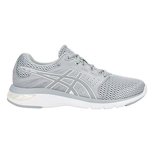 ASICS Women's Gel-Moya Mid Grey/Silver Ankle-High Running Shoe - 9.5M