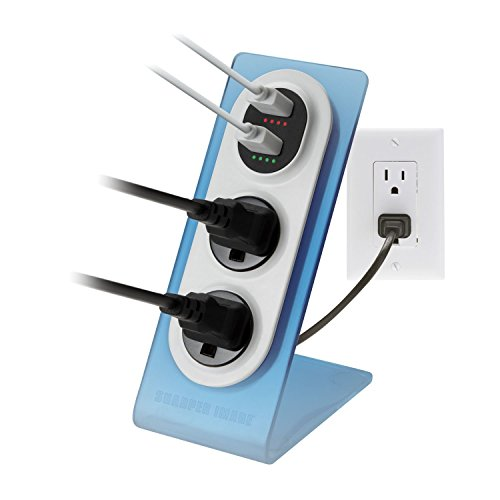 sharper-image-visual-charge-dual-usb-charger-outlet-2pk
