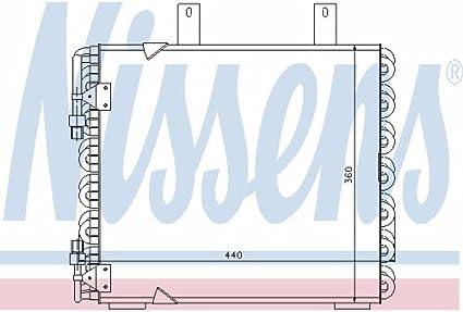 Nissens 94150 Condenser air conditioning