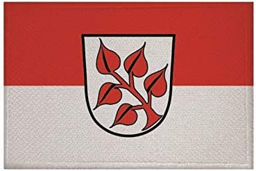 U24 Aufn/äher Frauenau Fahne Flagge Aufb/ügler Patch 9 x 6 cm