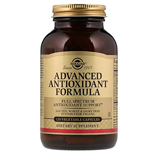 Solgar - Advanced Antioxidant Formula, 120 Vegetable Capsules