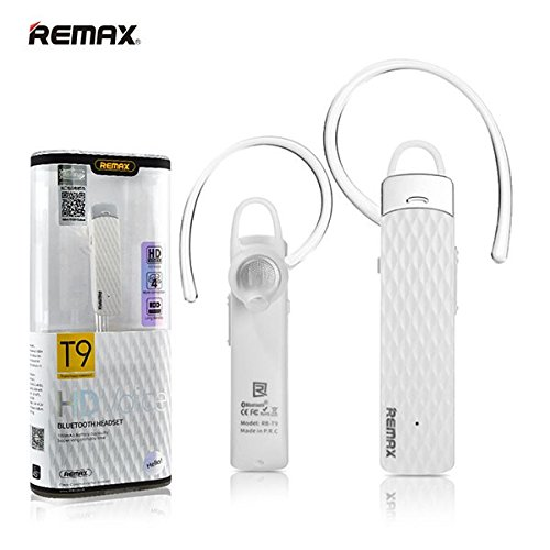 Remax Bluetooth Headset Rb T9 Wireless Hd Voice White Colour Music Earphone Buy Online In Bahrain Remax Products In Bahrain See Prices Reviews And Free Delivery Over Bd 25 000 Desertcart