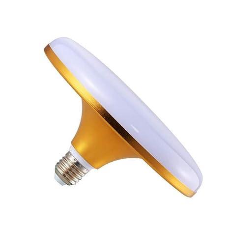 Bombilla Bombillas Incandescentese27 Bombilla Led Platillo Volante Luz Blanca Lámpara De Ahorro De Energía Aleación De