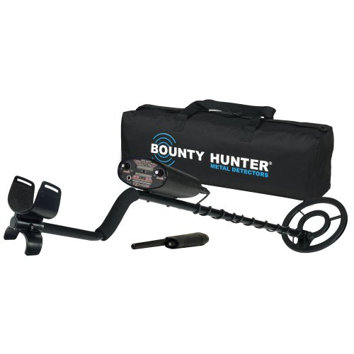 (Bounty Hunter Qd2gwp Quick Draw Ii Metal Detector With Pinpointer And Carry Bag)