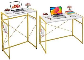 Mr IRONSTONE 31.5 High Folding Computer Desk 39.4 Folding Computer Desk - a good cheap modern office desk