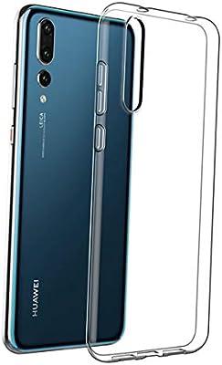 LUCKLYSTAR® Funda Huawei P20 Pro, Transparente Silicona Funda para Huawei P20 Pro Carcasa Flexible Claro Ligero TPU Fundas Transparente
