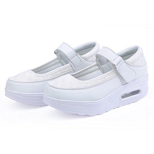 Ligero 03 Sacudida La Las 38 Entrenador 01 Elástico Mujeres Zapatos Tamaño color Señoras Mujeres Casuales De Aptitud qxRvAOX