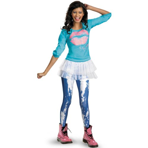 Disguise Disney Shake It Up Rocky Season 2 Classic Tween Costume, -