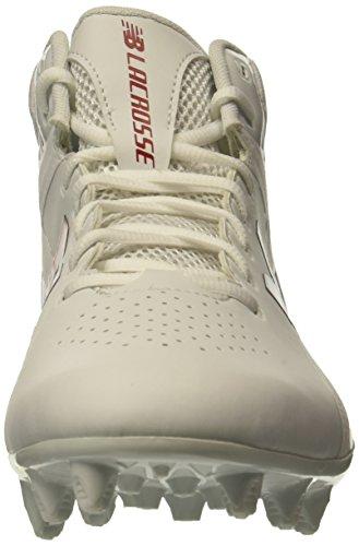 Lacrosse-Geschwindigkeits-Lacrosse-Schuh der neuen Balancen-Männer stürmen v1 Lacrosse Weiß Rot