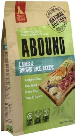 Abound Natural Adult Dog Puppy Dry Food