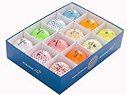 KAEDE Golf Balls, 12 Colors (One Dozen)