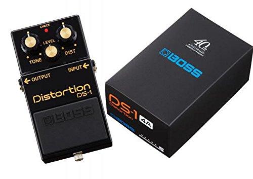 Grunge Distortion Guitar (Boss DS-1-4A 40th Anniversary Distortion Pedal w/Bonus RIS Picks (x3) 761294510728)