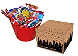 Huge 60 Count Snack Box by Skyline Snack Company | Food, Variety, Fun for the Whole Family | Office Chips, Nuts and Sweets for Every Taste | Military or College Care Package