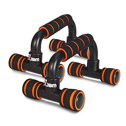 JBM Perfect Muscle Push up Bars Stands Handles Equipment for Man and Women Pushups/Pushup Workout, Pairs of Slip-Resistant Polypropylene Push up Stands, Push up Exercise Benefits for Muscles Chest by JBM international