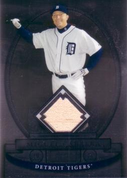 2008 Bowman Sterling Baseball - 2008 Bowman Sterling Baseball #BS-MC Miguel Cabrera Game Used Bat Card