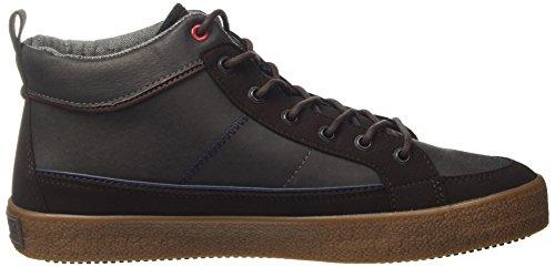 U S Sylvester Marrone ASSN Dark a POLO Uomo Sneaker Collo Alto Brown HraqHw