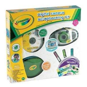 Crayola 2.1 MP Digital Camera Scrapbooking Kit by Crayola