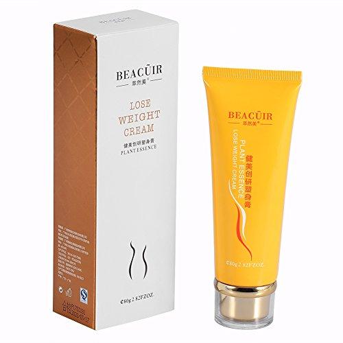 - Fat Burner Slimming Cream Hot anti Cellulite Belly Abdomen Body Shaping Skin Massage Weight Loss Gel 80 g