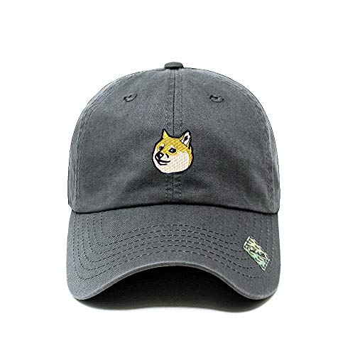 d825ee86 ChoKoLids Doge Dad Hat Cotton Baseball Cap Beanie Polo Style Low Profile  Ski hat