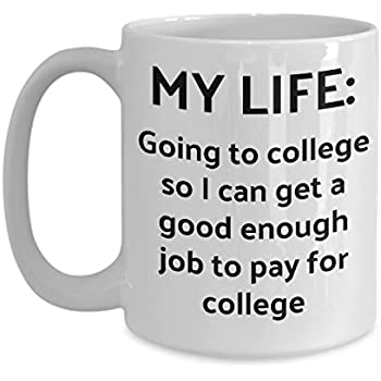 Amazon.com: College Student Mug - Going To College So I