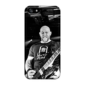 Perfect Hard Phone Cases For Apple Iphone 5/5s With Provide Private Custom Trendy Decapitated Band Pattern LauraFuchs