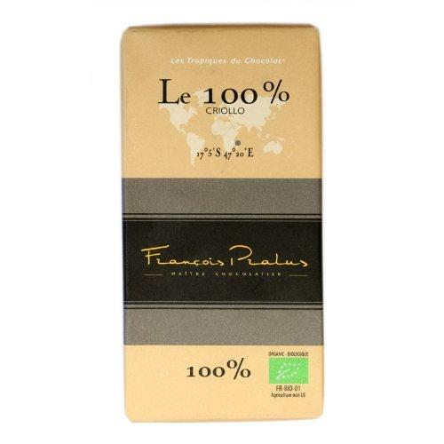 Pralus BIO Le 100% 100g Chocolate Bar