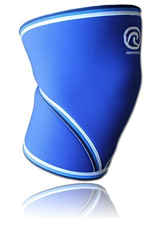 Rehband 7mm Knee Sleeve - Model 7051 Original Blue (Medium (33-36cm))