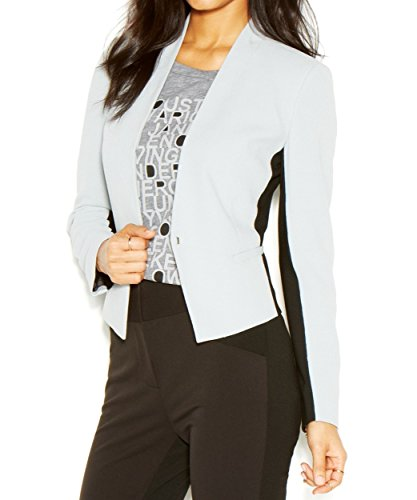Rachel+Roy+Black+Womens+One-Button+Suiting+Blazer+Jacket+Gray+0