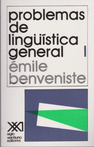 Problemas de lingüística general. I